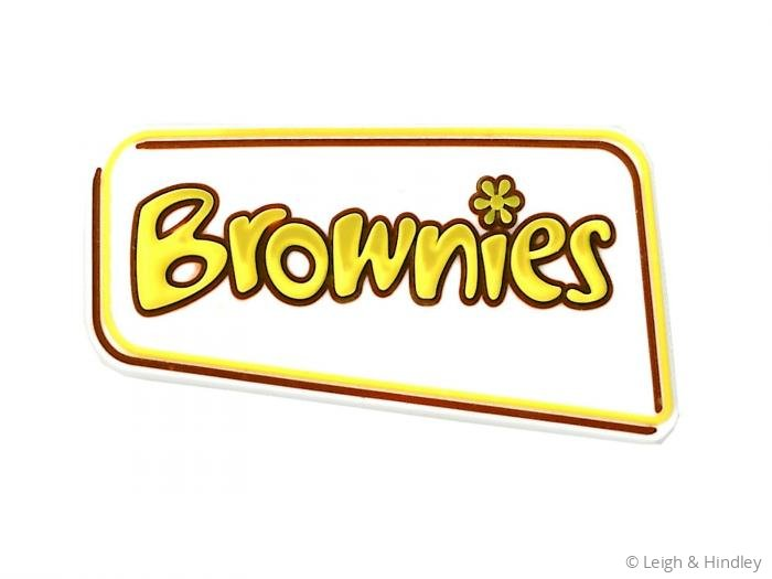 brownie logo badge 2014