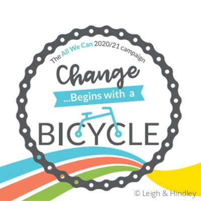 Change begins with a bicycle