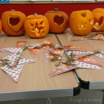 Youth Club Carve a Heart Party